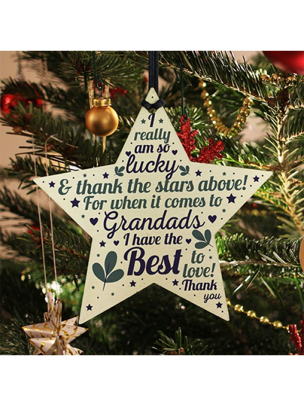 Best Grandad Gifts For Birthday Christmas Star Keepsake Gift
