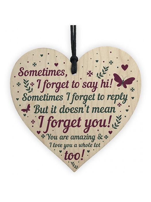 THANK YOU Gifts For Best Friend Heart Friendship Keepsake Gift