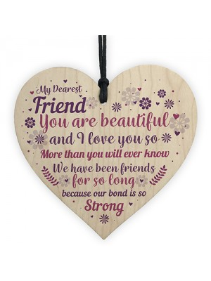 Friendship Gift For Girls Handmade Christmas Birthday Gift Wood