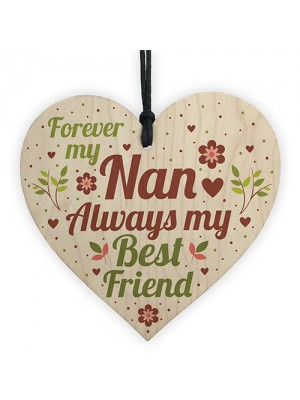 Nan Decorations Nan Plaque Nanny Gift For Birthday Christmas