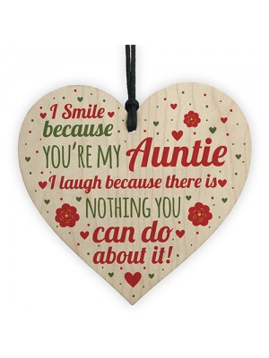Auntie Gifts For Christmas Aunt Aunty Gifts Birthday Wood Sign