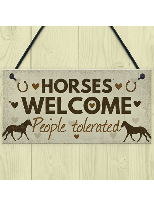 Horse Gifts For Girls For Women Stable House Sign Daughter Gift