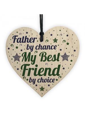 Best Friend Dad Daddy Birthday Christmas Gift Heart Keepsake