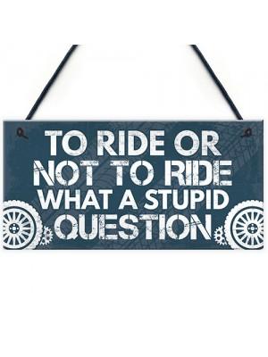 BIKER Gifts For Dad Brother Uncle Grandad Motorcyle Biker Signs