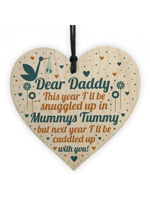Daddy To Be Gift From Bump Baby Shower Dad To Be Birthday Gift