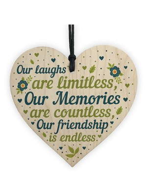 THANK YOU Best Friend Heart Friendship Gift For Birthday Xmas