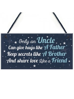 Thank You Gifts For Uncle Birthday Sign Gifts For Uncle Friend