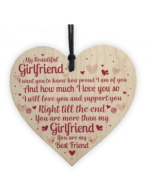 Best Friend Gift Girlfriend Anniversary Birthday Christmas Card
