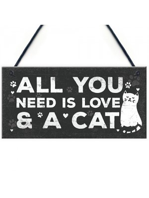 Cat Gifts For Cat Lovers Novelty Pet Animal Plaque Gift Funny