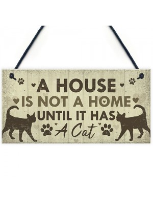 Novelty Cat Gifts For Home Gift For Cat Lovers Funny Animal Sign