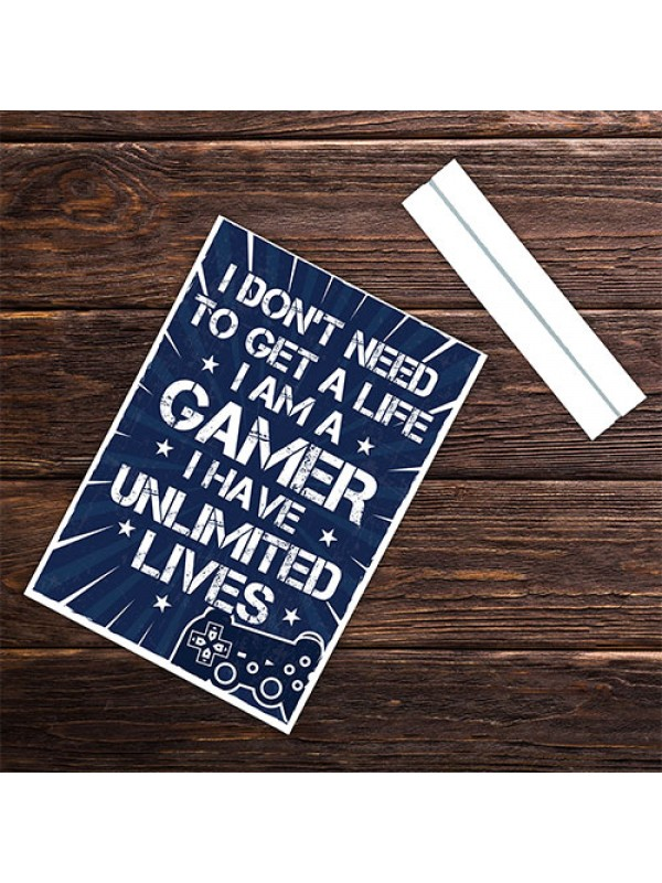 Funny Gaming Gamer Standing Plaque Birthday Gift For Boys Son
