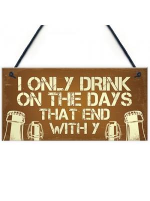 Novelty Bar Sign For Home Bar Funny Alcohol Gift Bar Pub Decor