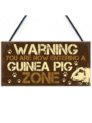 Beware Of The Guinea Pig Sign For Guinea Pig Lovers Pet Alert
