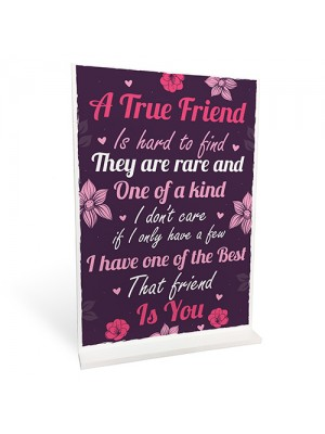 FRIENDSHIP Plaques Friendship Gift For Women Standing Sign