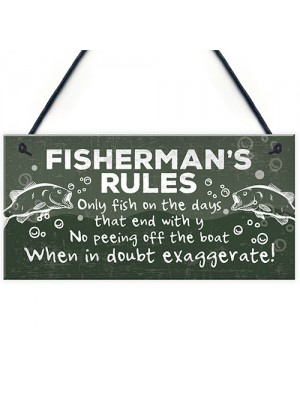 Funny Fishing Gift For Men Sign Fisherman Sign Gift For Dad Spn