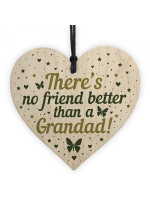 Grandad Birthday Gifts Heart Friendship Plaque Thank You Gift