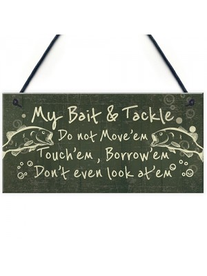 Funny Fishing Signs Gifts For Men Plaque Fisherman Sign Gift