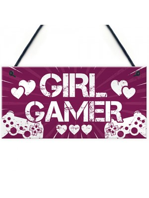 Gaming Bedroom Gifts Sign Gamer Gift For Women Birthday Gift