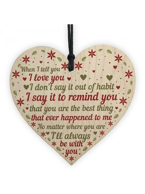 Special Love Plaque Girlfriend Boyfriend Anniversary Gifts Wife
