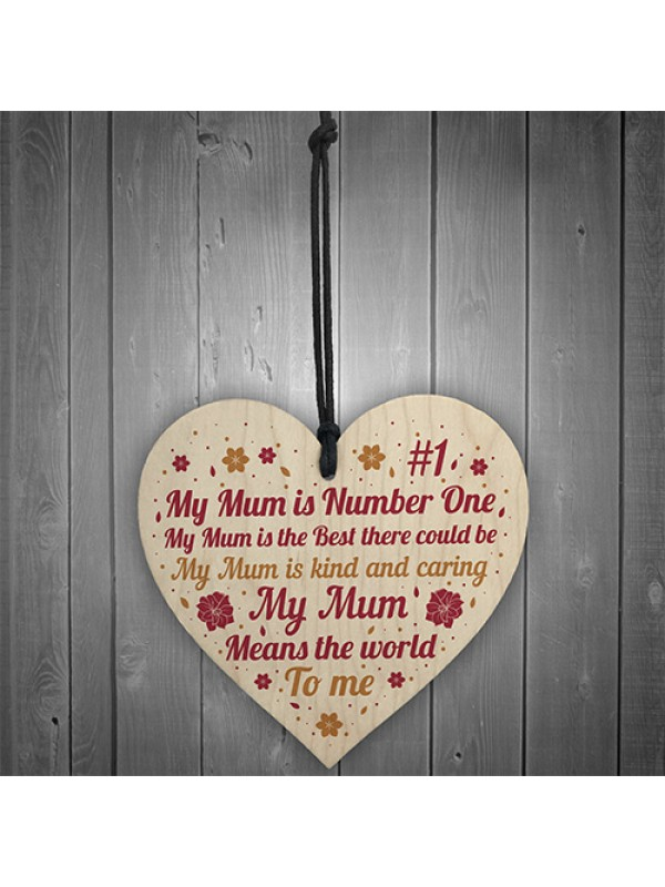 MOTHERS DAY Gift For Mum Heart Mother Daughter Gift Birthday