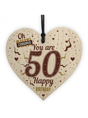 50th Birthday Gifts For Women 50th Birthday Gifts For Men Heart