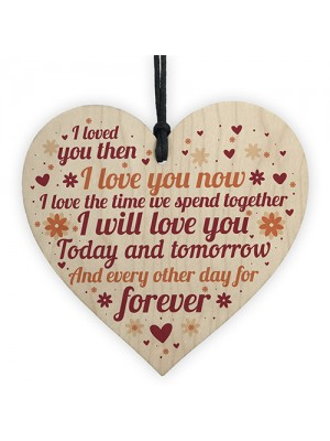 Perfect Valentines Gift For Your Husband Wife Anniversary Card