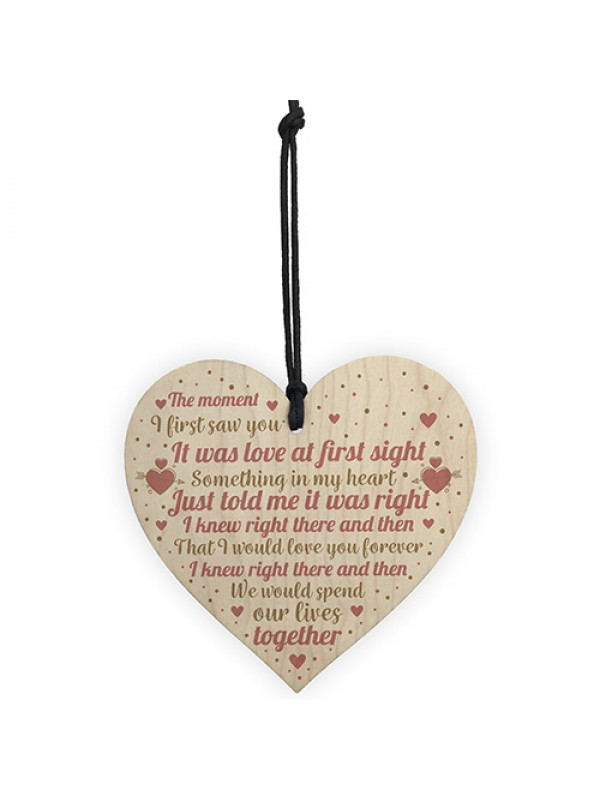 Perfect Anniversary Gifts For Husband Wife Romantic Love Plaques