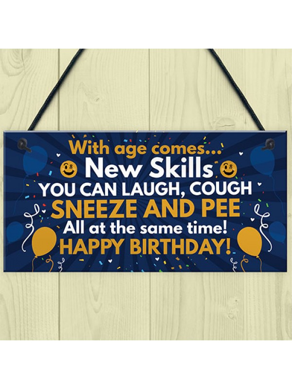 Funny 40th 50th 60th Birthday Gifts For Men Women Birthday Decor