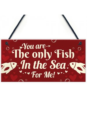 Funny Valentines Gift Plaque For Husband Wife Boyfriend