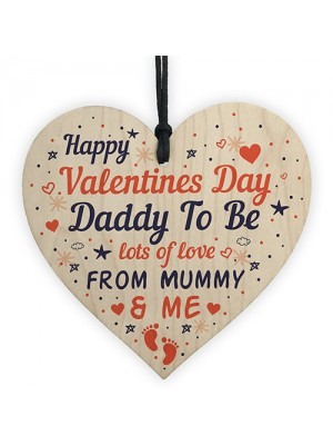 Valentines Day Card For Daddy To Be Gift From The Bump Card