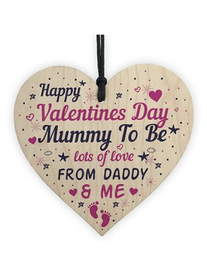Valentines Day Card For Mummy To Be Gift From The Bump Card