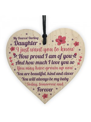 Daughter Gifts Heart Daughter Birthday Daddy Daugher Gifts