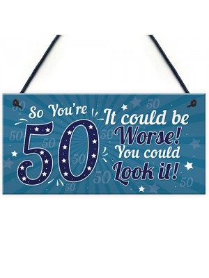 50th Birthday Gift For Men 50th Birthday Presents Women Mum Dad
