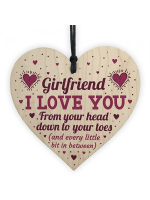 Girlfriend I Love You Signs Funny Valentines Gifts For Her Heart