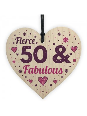 50 And Fabulous Gift 50 Birthday Decorations 50th Birthday Gifts