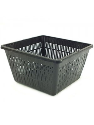 Bermuda Aquatic Basket Pond Plant Mesh Container Tub - 23 x 23cm