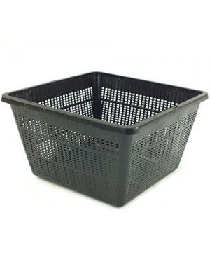 Bermuda Aquatic Basket Pond Plant Mesh Container Tub - 35 x 35cm