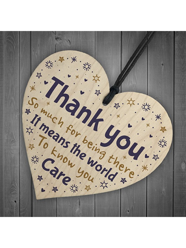 THANK YOU Gifts Colleague Gifts Heart Plaque Best Friend Sign