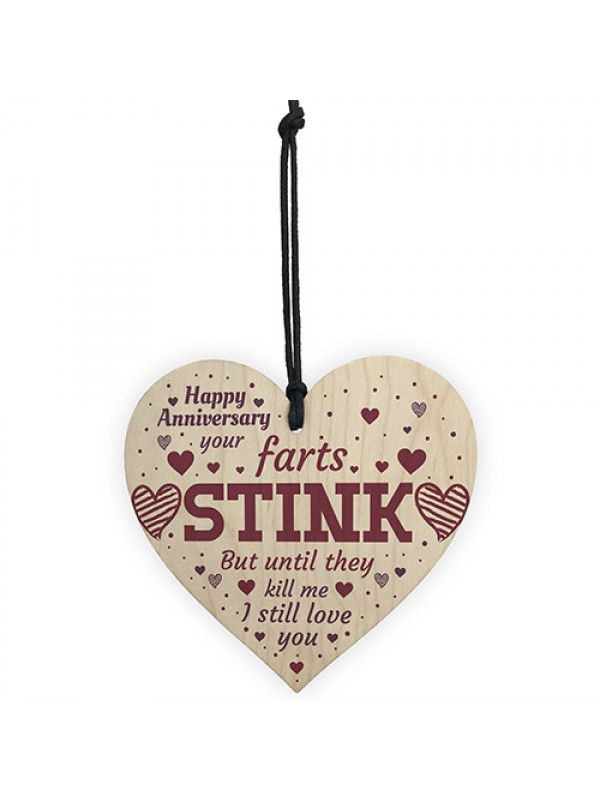 Funny Anniversary Card Anniversary Gifts For Him / Her Keepsake