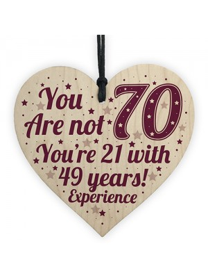 70th Birthday Gift For Women / Men 70th Birthday Card Mum Gift