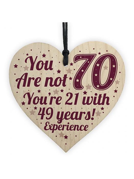 70th Birthday Gift For Women / Men 70th Birthday Card Mum Gift