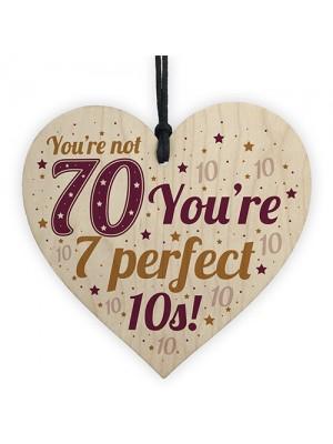 Funny 70th Birthday Card 70th Birthday Gift For Women Men Gift