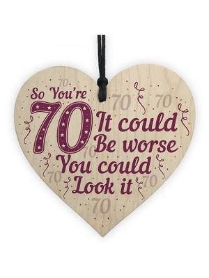 FUNNY 70TH BIRTHDAY Card 70th Birthday Gift For Mum Dad Nan