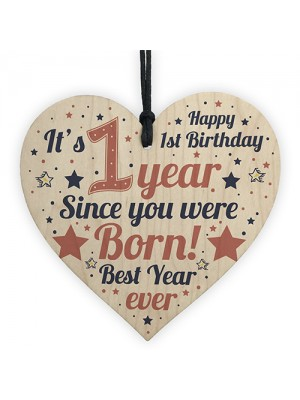 1st Birthday Girl Boy One Today 1st Birthday Decoration Card