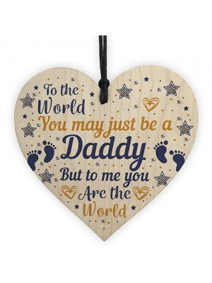 Fathers Day Gift Heart Gift For Daddy Daugther Gifts From Bump