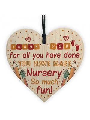 THANK YOU Gift For Teacher Teaching Assistant Leaving Nursery