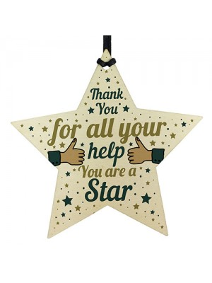 You Are A Star Thank You Gift For Teacher TA Gift For Colleagues