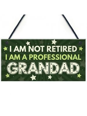 GRANDAD Gift Plaque Grandad Birthday Gift From Grandchildren