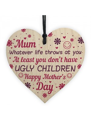 HAPPY MOTHERS DAY CARD Mothers Day Gift FUNNY MUM MOTHER