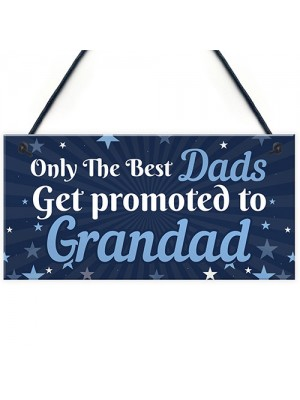 Dad Gifts Grandad To Be Gifts Hanging Plaque Gifts From Daughter